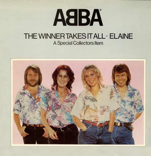 Abba The Winner Takes It All (Pop Up Sleeve)