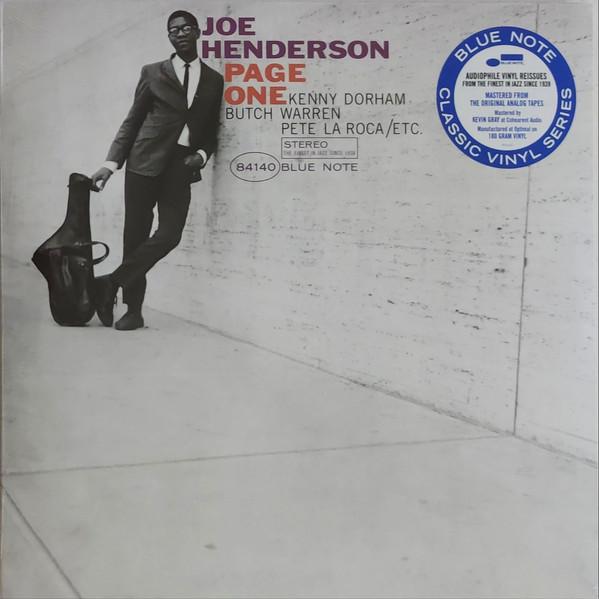 Joe Henderson Page One Vinyl
