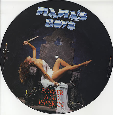 Mama's Boys Power And Passion Vinyl