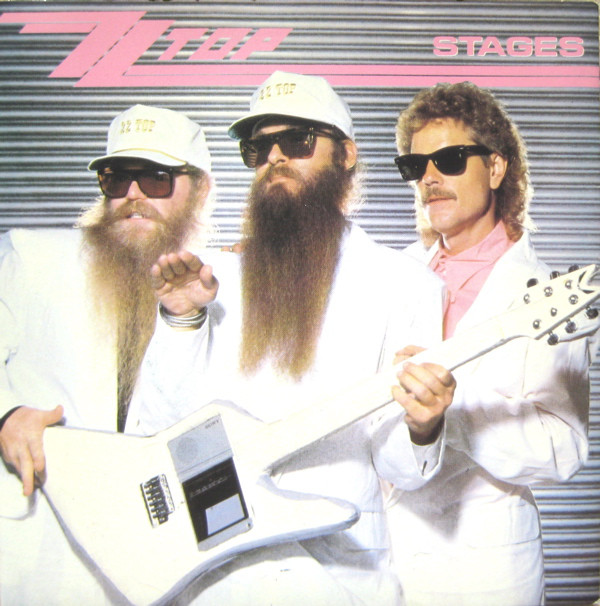 ZZ Top Stages Vinyl