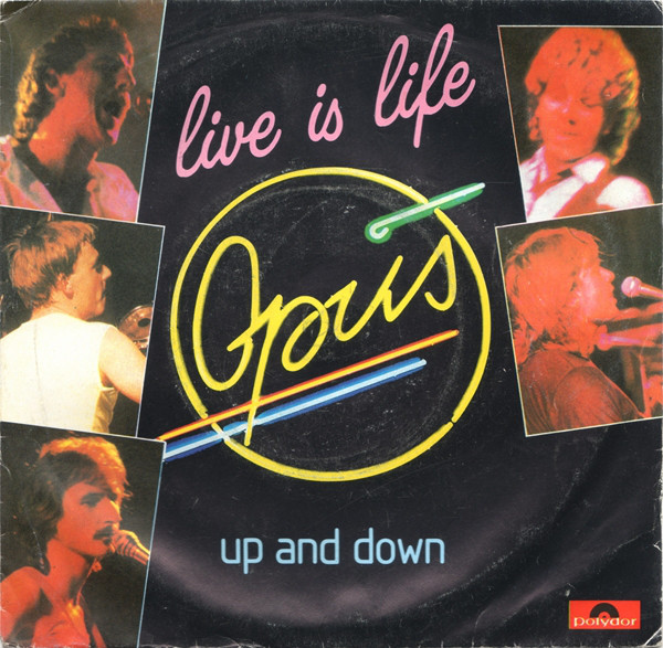 Opus Live Is Life / Up And Down Vinyl