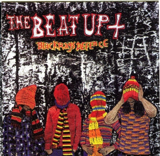 The Beat Up Black Rays Defence CD