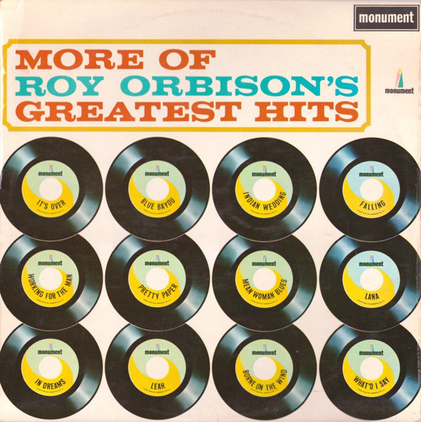 Orbison, Roy More Of Roy Orbison's Greatest Hits Vinyl