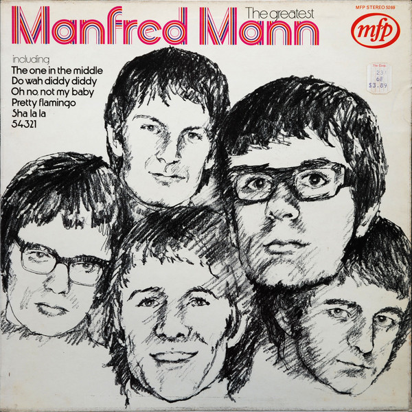 Manfred Mann The Greatest Vinyl