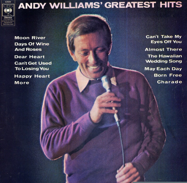 Williams, Andy Greatest Hits Vinyl