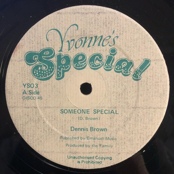 Dennis Brown Someone Special Vinyl