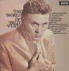 Fury, Billy The World Of Billy Fury Vinyl