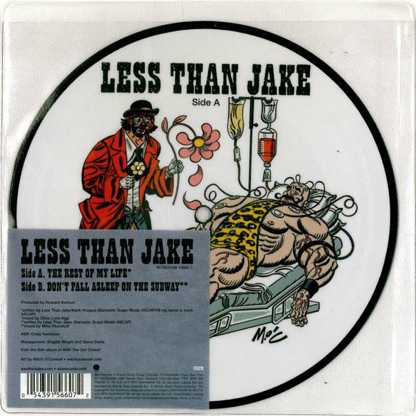 Less Than Jake The Rest Of My Life  Vinyl