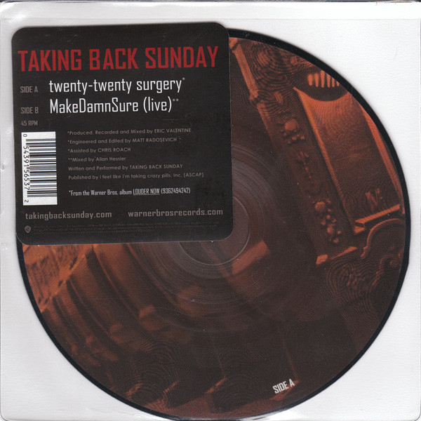 Taking Back Sunday Twenty-Twenty Surgery
