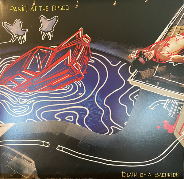 Panic! At The Disco Death Of A Bachelor Vinyl