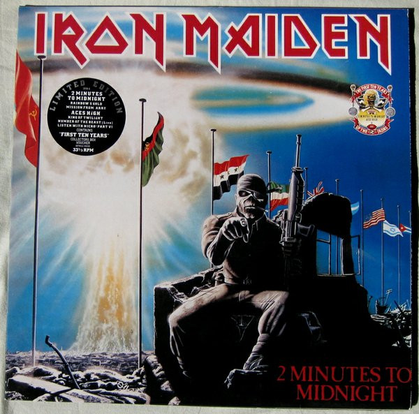 Iron Maiden 2 Minutes To Midnight / Aces Is High