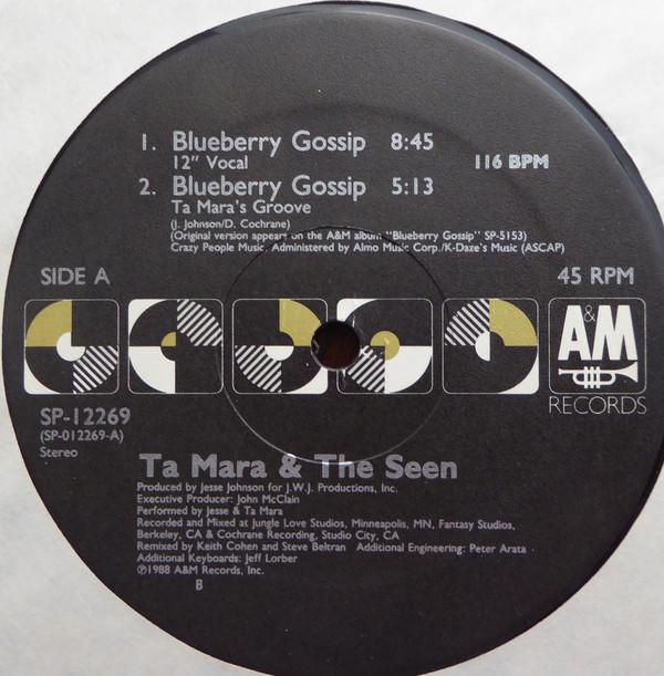 Ta Mara & The Seen Blueberry Gossip