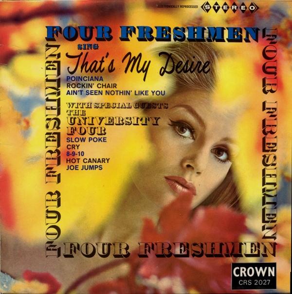 Four Freshmen Four Freshmen Sing That's My Desire Vinyl