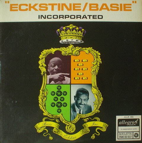 Billy Eckstine with Count Basie And His Orchestra Eckstine/Basie Incorporated Vinyl