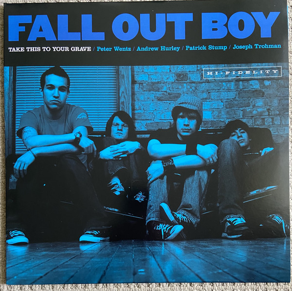Fall Out Boy Take This To Your Grave Vinyl