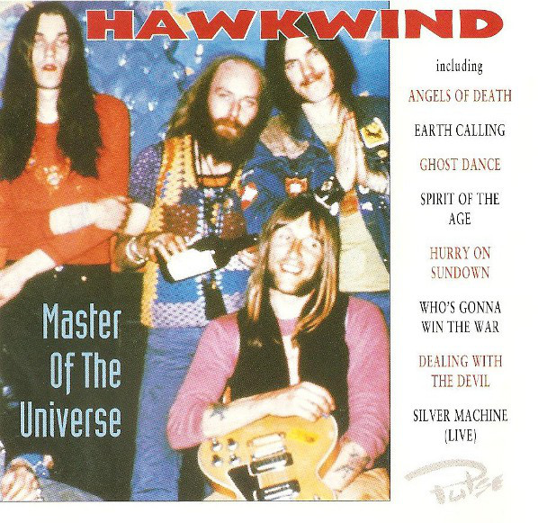 Hawkwind Master Of The Universe Vinyl