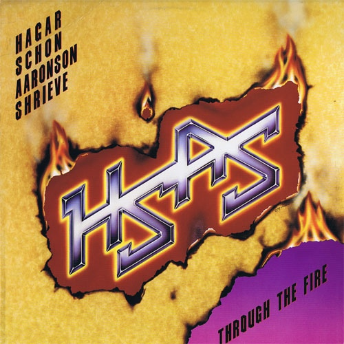 Hagar Schon Aaronson Shrieve Through The Fire Vinyl