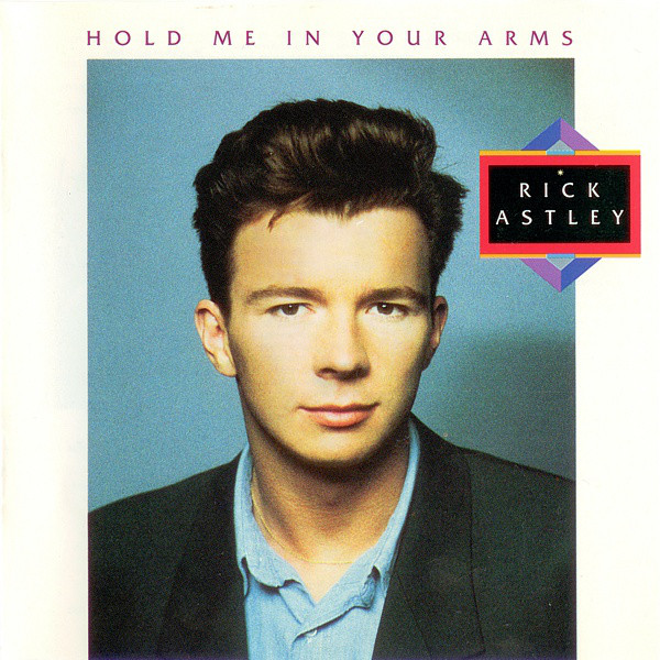 Astley Rick Hold Me In Your Arms Vinyl