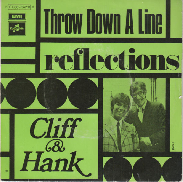 Richard, Cliff And Hank Marvin Throw Down A Line  Vinyl