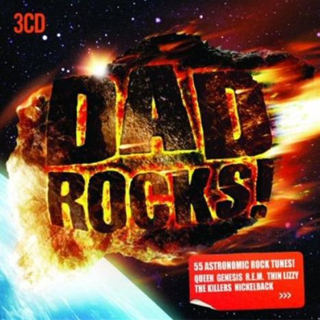Various Dad Rocks CD
