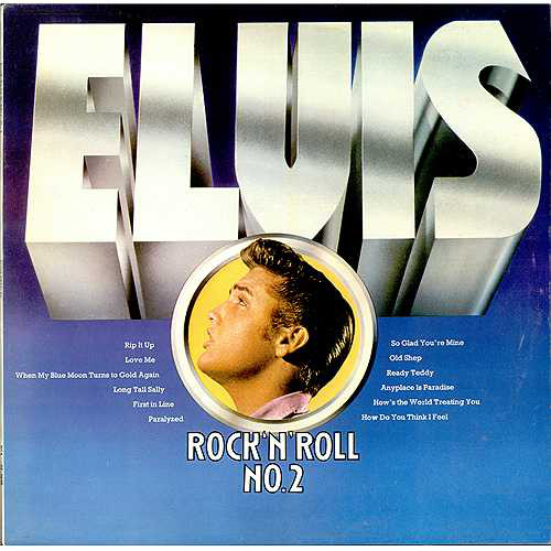 Elvis Presley Rock 'N' Roll No.2