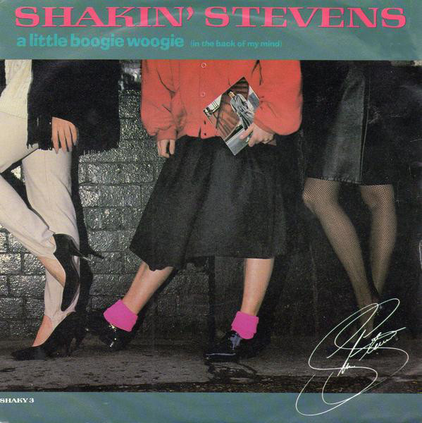 Stevens, Shakin A Little Boogie Woogie (In The Back Of My Mind) Vinyl
