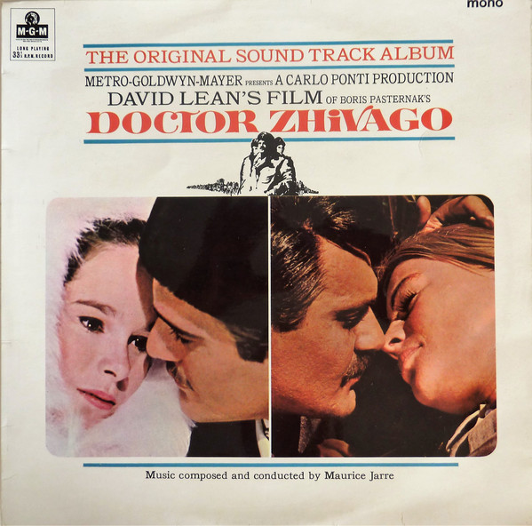 Maurice Jarre Doctor Zhivago Original Soundtrack Album