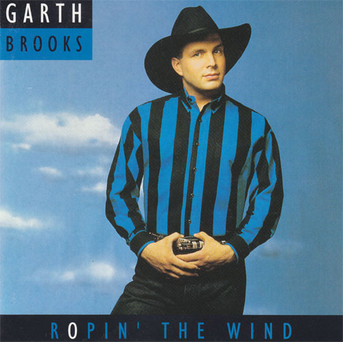 Brooks Garth Ropin the Wind CD