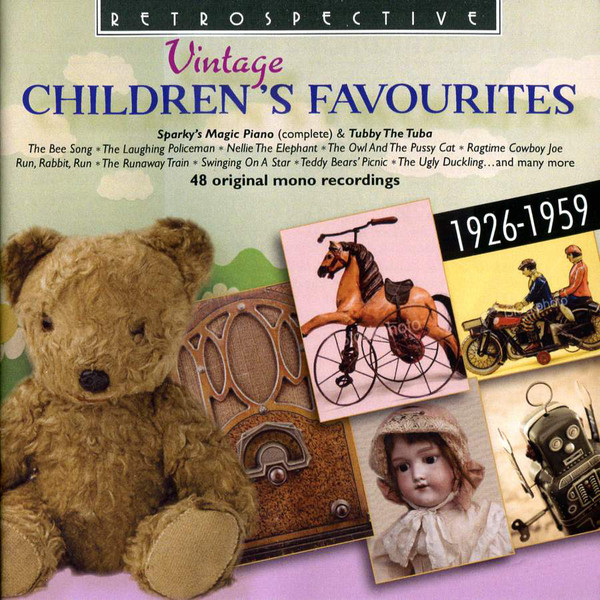 Various Vintage Children's Favourites CD