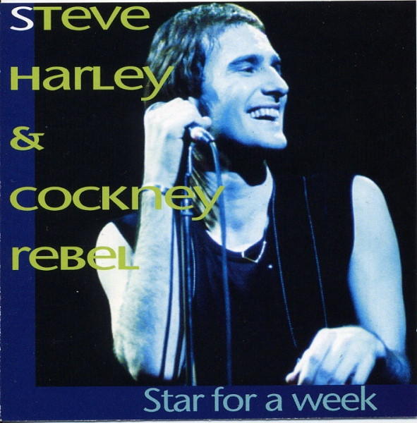 Harley, Steve & Cockney Rebel Star For A Week CD