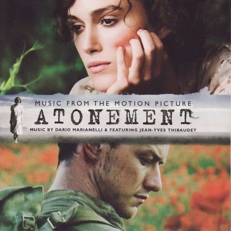 Dario Marianelli & Featuring Jean-Yves Thibaudet Atonement (Music From The Motion Picture)  CD
