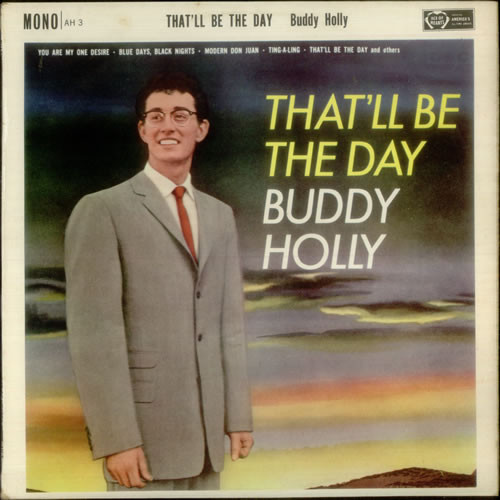 Holly, Buddy That'll Be The Day Vinyl
