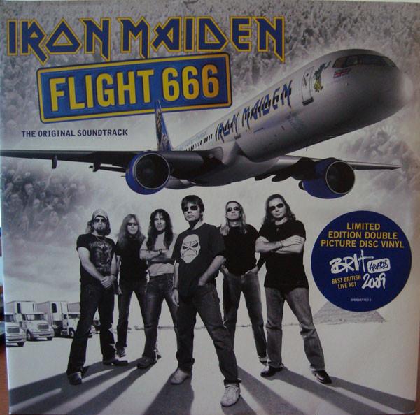 Iron Maiden Flight 666 Vinyl