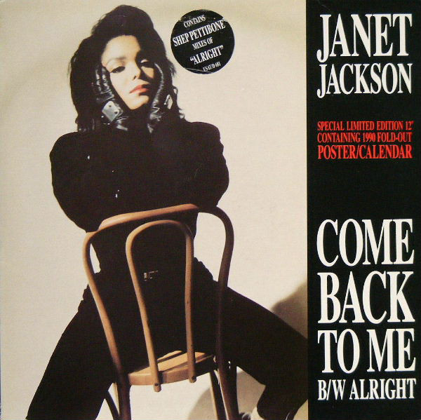 Jackson, Janet Come Back To Me