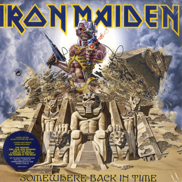 Iron Maiden Somewhere Back In Time - The Best Of: 1980-1989 Vinyl