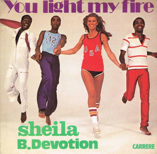 Sheila & B.Devotion You Light My Fire Vinyl