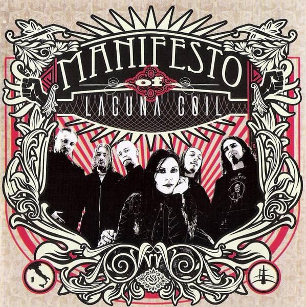 Lacuna Coil Manifesto CD