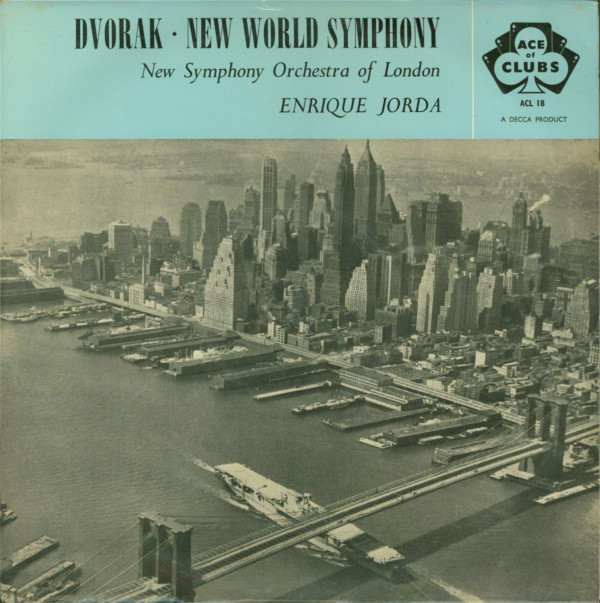 Dvorak - Enrique Jorda New World Symphony