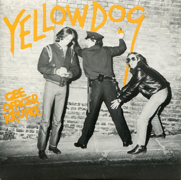 Yellow Dog Gee Officer Krupke Vinyl