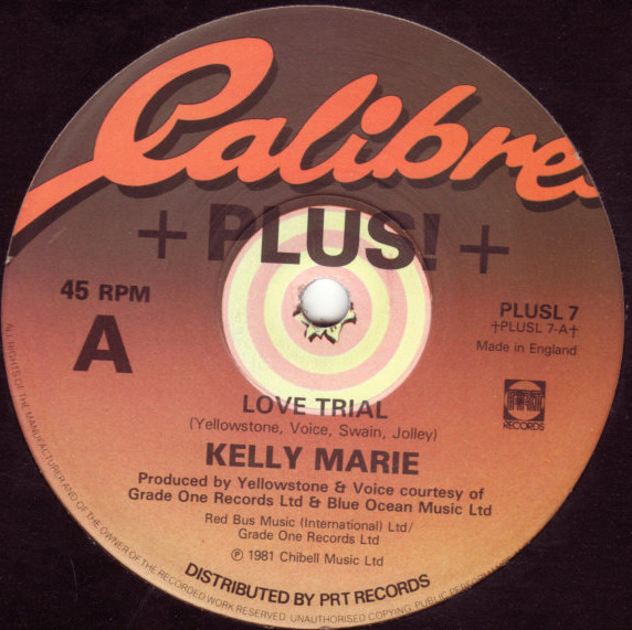 Marie, Kelly Love Trial Vinyl