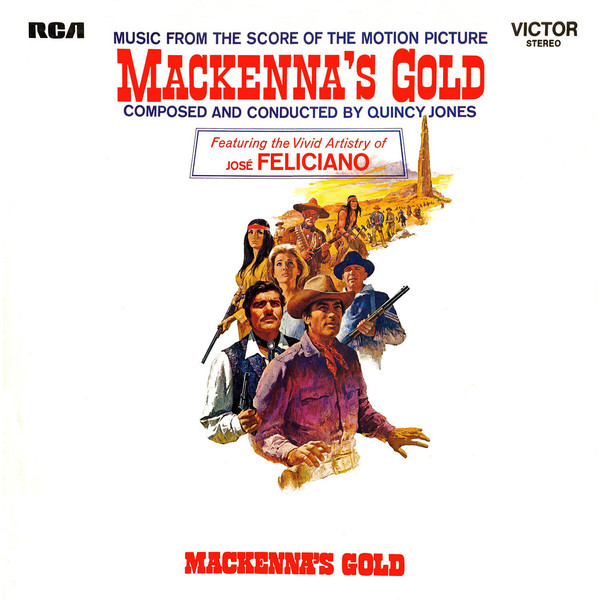 Quincy Jones & José Feliciano Mackenna's Gold  Vinyl