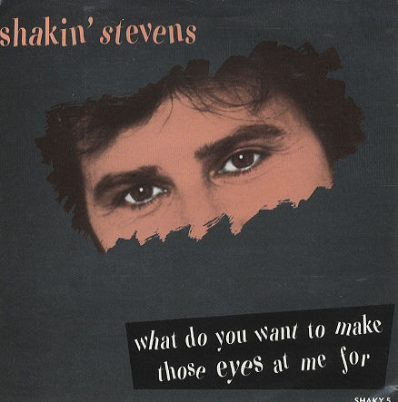 Stevens, Shakin What Do You Want To Make Those Eyes At Me For Vinyl