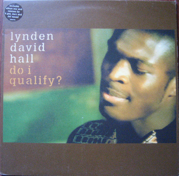 Hall, Lynden David Do I Qualify?