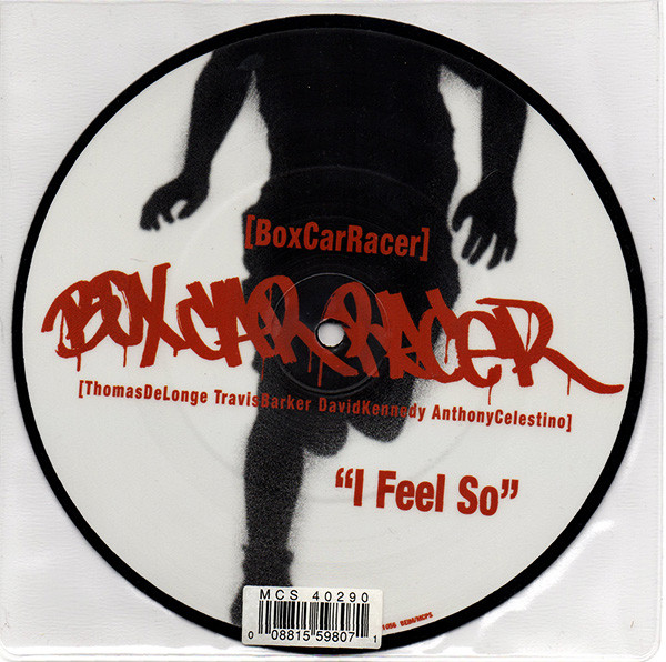 Box Car Racer I Feel So  Vinyl