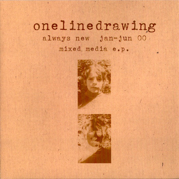 Onelinedrawing Always New Jan-Jun 00 Mixed Media E.P.