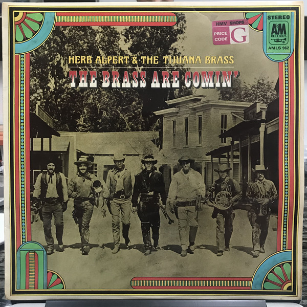 Herb Alpert & The Tijuana Brass The Brass Are Comin' Vinyl