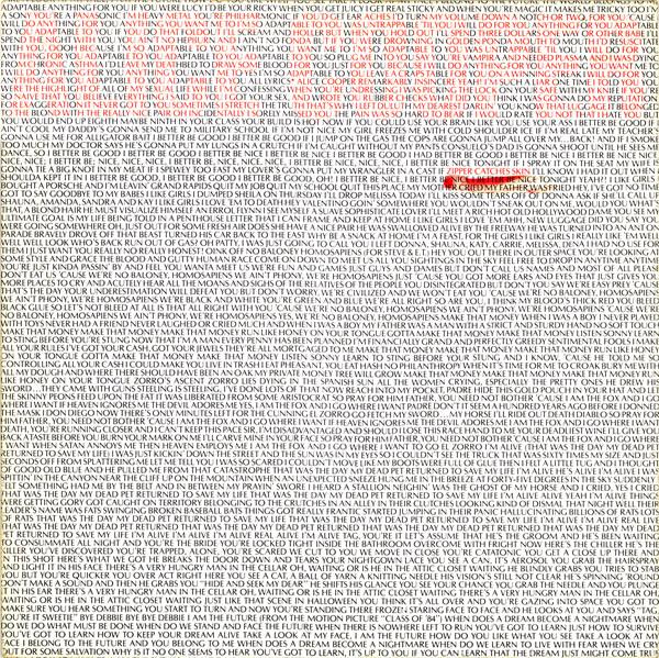 Cooper, Alice Zipper Catches Skin
