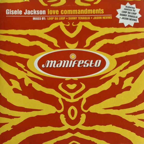 Jackson, Gisele Love Commandments Vinyl