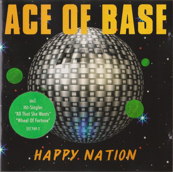 Ace Of Base Happy Nation CD