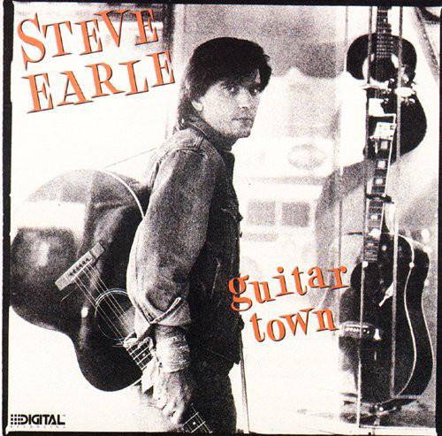 Earle, Steve Guitar Town Vinyl